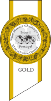 Wine Masters Challenge 2003 gold medal