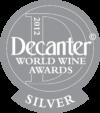 Decanter World Wine Awards 2012 silver medal