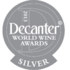 Decanter World Wine Awards 2013 silver medal