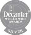 Decanter World Wine Awards 2014 silver medal