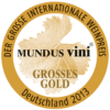 Grosses Gold at Mundus vini 2013