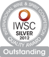 International Wine and Spirit Competition 2012 silver and outstanding award