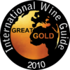 International Wine Guide 2010 great gold