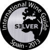International Wine Guide 2013 silver medal