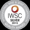 International Wine & Spirit Competition 2015 silver medal