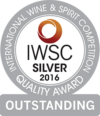 International Wine & Spirit Competition 2016 Silver Outstanding