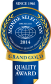 Monde Selection 2014 grand gold