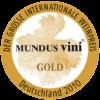 Mundus Vini 2010 gold medal