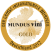 Mundus Vini 2012 gold medal