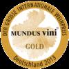 Mundus Vini 2013 gold medal