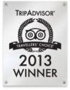 Trip Advisor Winner 2013
