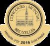 Concours Mondial de Bruxelles 2016 Gold