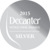Decanter World Wine Awards 2015 silver