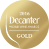Decanter World Wine Awards 2016 Gold