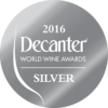 Decanter World Wine Awards 2016 silver
