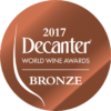 Decanter World Wine Awards 2017 Bronze