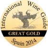 Great Gold at International Wine Guide 2014