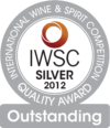 Silver and Outstanding at International Wine & Spirit Competition 2012