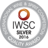International Wine & Spirit Competition 2016 silver