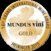 Mundus Vini 2015 gold