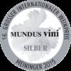 Mundus Vini 2015 silver
