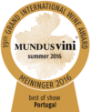 Mundus Vini 2016 Best of Show