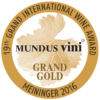 Mundus Vini 2016 Grand Gold