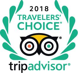 TripAdvisor Travellers Choice 2018