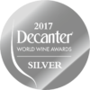 Silver at Decanter World Wine Awards 2017
