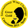Great Gold at International Wine Challenge Catavinum 2012