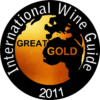 Great Gold at International Wine Guide 2011