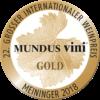 Mundus Vini 2018 Gold