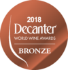 Bronze at Decanter World Wine Awards 2018