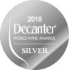 Silver at Decanter World Wine Awards 2018