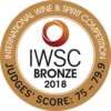 Bronze at International Wine & Spirit Competition 2018