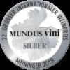 Mundus Vini 2018 Silver
