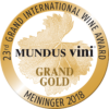 Mundus Vini summer 2018 Grand Gold