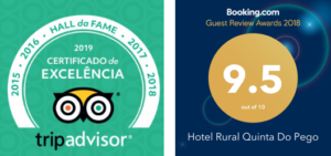Booking.com Guest Review Awards 2018 and TripAdvisor Hall of Fame 2019
