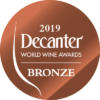 Bronze at Decanter World Wine Awards 2019