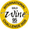 Gold and 95 points at International Wine Challenge 2020