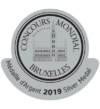 Silver at Concours Mondial Bruxelles 2019